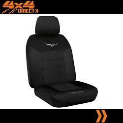 Single R M Williams Breathable Poly Seat Cover For Toyota Land Cruiser Bundera