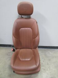 Maserati Ghibli LH Left Side Front Seat Brw Used PN 670020491