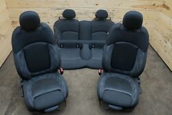 Set Front Rear Manual Sport Seat Assembly Heated HT BMW Mini Cooper F56 2014-17