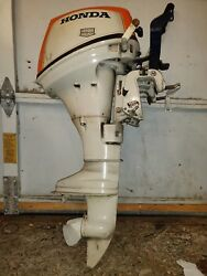 Parting Out ... Honda 75 Twin 7.5hp 4 Stroke 10hp Outboard Motor Parts