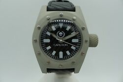 Carlson 44 Magnum 3000m Handmade In Germany Aluminum Carbon Diver 44mm Swiss