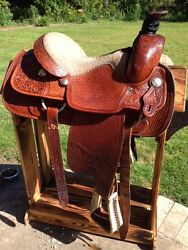 Custom Made Excellent 15 Roping Western Saddle By Dale Fredrick High Quality