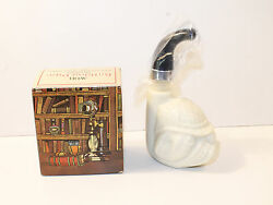 Vintage Avon Bulldog Pipe Decanter Wild Country Empty with Box
