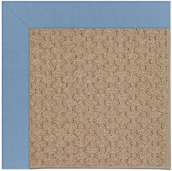Longshore Tides Lisle Machine Tufted BlueBrown IndoorOutdoor Area Rug