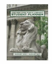 The New York Public Library Student Planner August 2010 - Augu... by Pomegranate