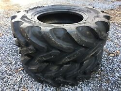 2 New 12.5/80-18 Camso Bhl 532 Backhoe Tires - 12 Ply - 12.5-80-18