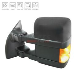 NEW POWER DOOR MIRROR HEATED LEFT FITS 2008-09 FORD F-250 SUPER DUT