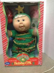 Cabbage Patch Kid Holiday Baby Doll Christmas Tree Brenna Colleen