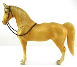 Vintage Breyer 1950s Palomino Horse Chain Brown Tan Traditional Size NO SADDLE