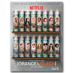 Orange Is the New Black Poster Art Silk TV Series Poster 13x18 24x32inch J410