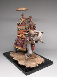 TO BE PAINTED! Russian Vityaz ELITE (Museum) Soldier: Chinese War Elephant