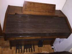 Elettronica Organ Made In Italy Vintage Rare With Pedals Piano