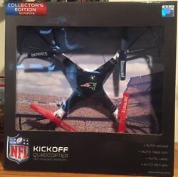 New England Patriots Full Size Drone Kickoff Quadcopter