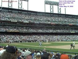 San Francisco GIANTS Charter Seat License CSL  10 LOWER BOX Seats Together  AT