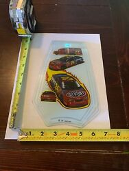 Touch Lamp Replacement Glass Panel Jeff Gordon Nascar
