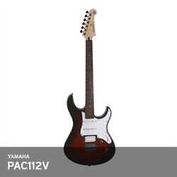 Yamaha Pac112v Pacifica Double Cutaway Electric Guitar Alder Rose Wood Ups / Ovs