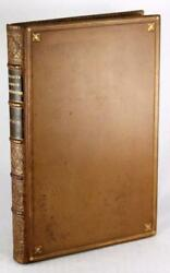Signandeacute John Ruskin First Edition Cuir 1849 The Seven Lampes De Architecture