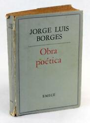 Signed Jorge Luis Borges First Edition Obra Poetica 1923-1966 Works Of Poetry