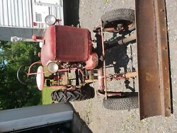 Farmall Cub Tractor With Plow