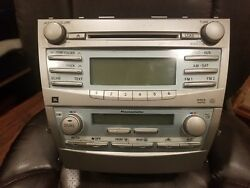 2007 2008 2009 TOYOTA CAMRY OEM JBL RADIO AND CLIMATE CONTROL US