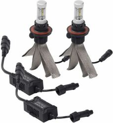 280007 Putco H7 Silver-Lux LED Headlight Bulb Kit - Pair