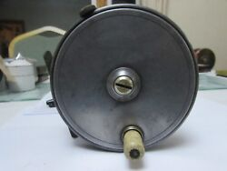 Xx Rare Vintage Youngs Named Pattern 10b Deluxe Salmon Fly Fishing Reel 4.25