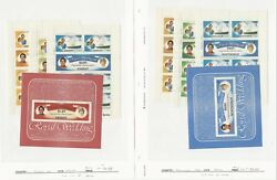 British Stamp Royalty Collection, 14 Pages 1981 Princess Diana Mint Nh Ai