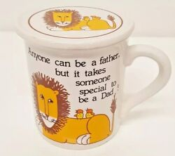Anyone Can Be A Father But It Takes Someone Special To Be A Dad Coffee Mug And Lid