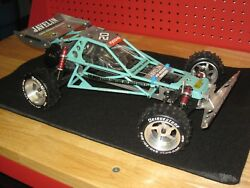 Vintage Kyosho Javelin/optima 4wd / Alloy Bumper And Wheels