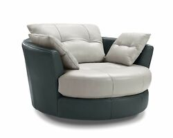 Orren Ellis Kerry Swivel Barrel Chair