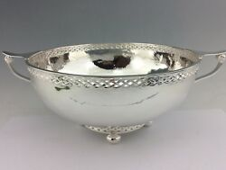 Arts And Crafts Large Solid Silver Bowl A.e.jones 1924