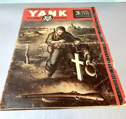 Vintage Articles 1945 Yank The Army Weekly Victory Edition Continental Edition