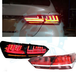 For Toayota Camry 2018-19 LED Tail Light Brake Turn signal Lamps Kit Assembly DW