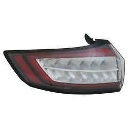New Premium Fit Driver Side Tail Light Assembly HT4Z13405E NSF