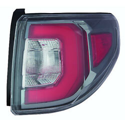 New Premium Fit Driver Side Outer Tail Light Assembly 23236014 NSF