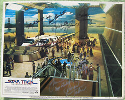 Andnbsp Star Trek The Motion Picture Lobby Card Signed By 12