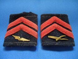 PORTUGAL PORTUGUESE AFRICA WAR AIR FORCE CORPORAL  VINTAGE RANKS WITH INSIGNIAS
