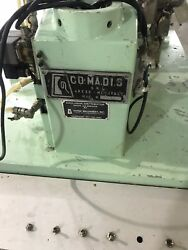 Used- Comadis Model C130 Rotary Plastic  Tube Filler. Machine is capable of fill
