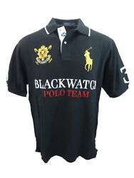 Big And Tall Xlt Polo Menand039s S/s Blackwatch Mesh Polo Shirt