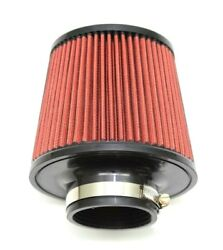 1320 Perf Fab 4 Universal Air Filter Cone Reusable Red Air Filter And Clamp