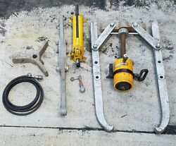 Enerpac 50 Ton Pulling Set With P-80 Pump And Rch603 Cylinder