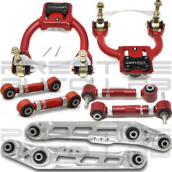 Truhart Front Rear Cambertoe Lower Control Arms For 92-95 Civic 94-01 Integra