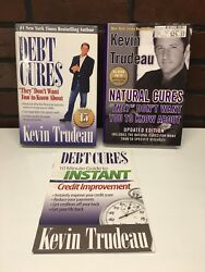 Lot Of 2 Kevin Trudeau - Debt Cures And Natural Cures