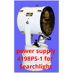 Carlisle Finch 4198PS-1 Power Supply 115 VAC for 500W Xenon Arc Searchlight MD