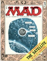 Mad  26  Vfnm  November 1955  The Satellite The Size Of A Basketball