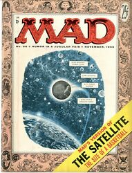 Mad  26  Very Fine+  November 1955  The Satellite The Size Of A Basketball