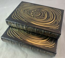 Easton Press Signed Leather Set Science Fiction Connie Willis Blackout All Clear