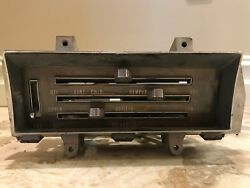 1968 1969 Chevy Impala Heater Control Assembly No AC Caprice  Lemans Chevelle