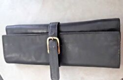 VINTAGE GUCCI TRAVEL JEWELRY CASE CLUTCH ROLL