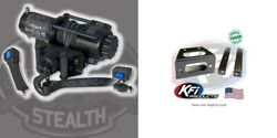 Kfi 4500 Lb Stealth Synthetic Cable Winch And Mount Kit Polaris Rzr 570 800 08-19